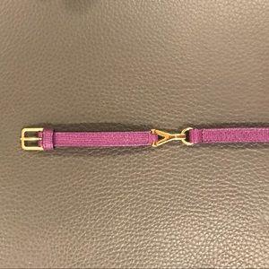 Saint Laurent Jewelry - 🔹YSL  Logo Leather Bracelet
